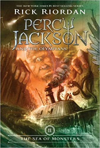 The sea of monsters percy jackson and the olympians book 2 the sea of monsters percy jackson and the olympians book 2 rick riordan 8601419392902 amazon books fandeluxe Image collections