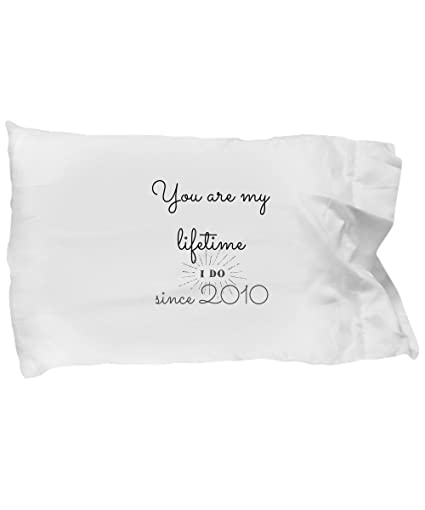 BarborasBoutique 8th Wedding Anniversary Gifts For Him - Once In A Lifetime - 8 Th Yr