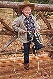 M-Royal 20 Foot White Soft Kid Rodeo Lasso Lariat