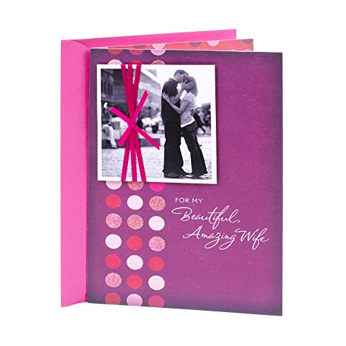 Hallmark Birthday Greeting Card to Wife (Kissing Couple)