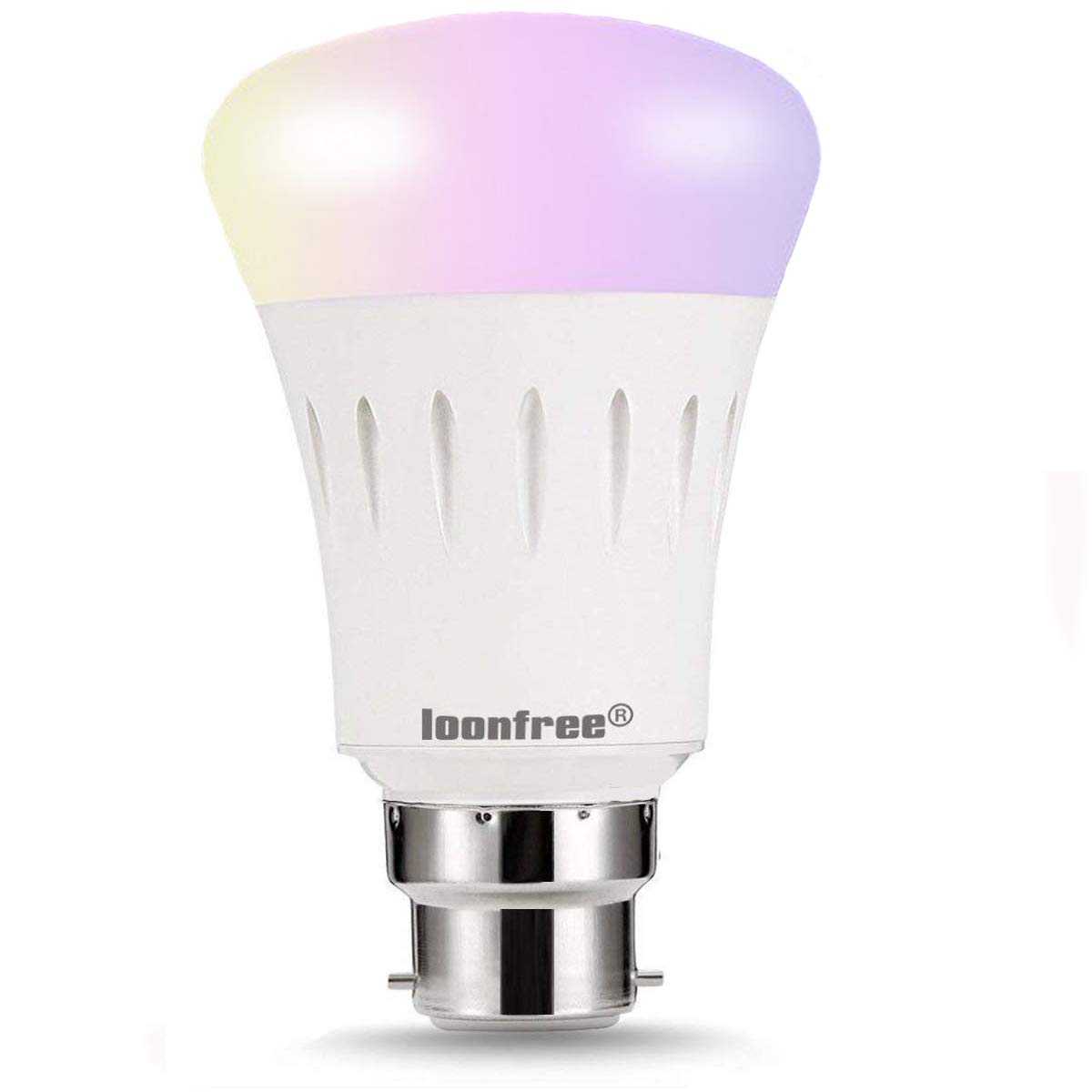 LED Smart Bulb - Colour Changing, Emit Any in The Rainbow and Tuneable White Lights, 60W Equivalent, Controlled by a Smartphone Caspro