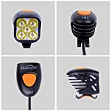 Magicshine MJ 906B Bluetooth Front Bike Light, 5X