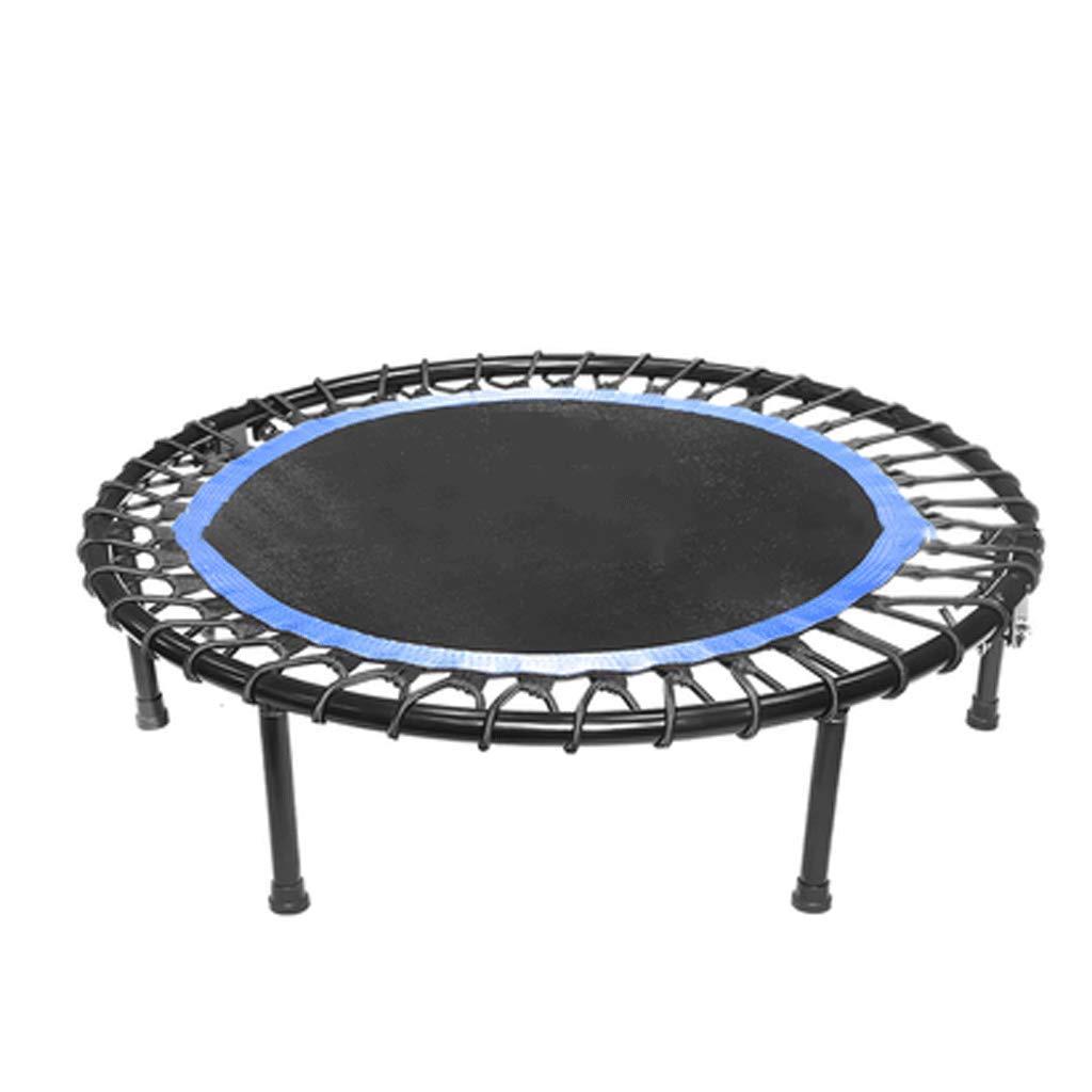 Trampolin Trampolin für Erwachsene Gymnastik Elastisches Seiltrampolin Silent mit Armlehnen-Trampolin Fitnessgeräte