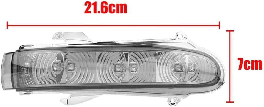 cherrypop Indicador de Espejo Retrovisor de Luz Intermitente de 1 Par para Mercedes W220 Clase S 1999-2002 W215 Clase CL 1999-2003