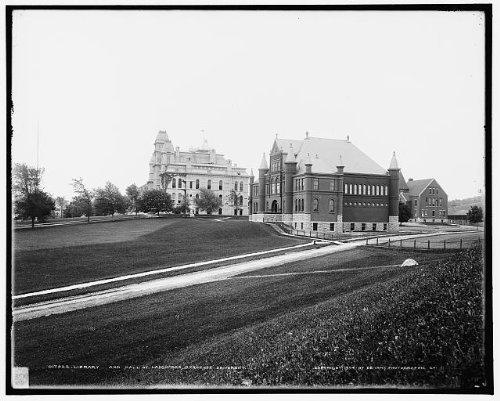 Photo: Library,Hall,Languages,educational facilities,Syracuse University,New - In New Shopping York Syracuse