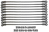 R&B Electronics, Inc. - M83413/8-A006FF (10 PACK) OF QPL/QPD BONDING JUMPERS ASSEMBLIES, FOR (ELECTRICAL, AIRCRAFT GROUNDING: TYPE IV JUMPER CABLE ASSEMBLY, LEAD, ELECTRICAL). NSN 6150-01-659-7158