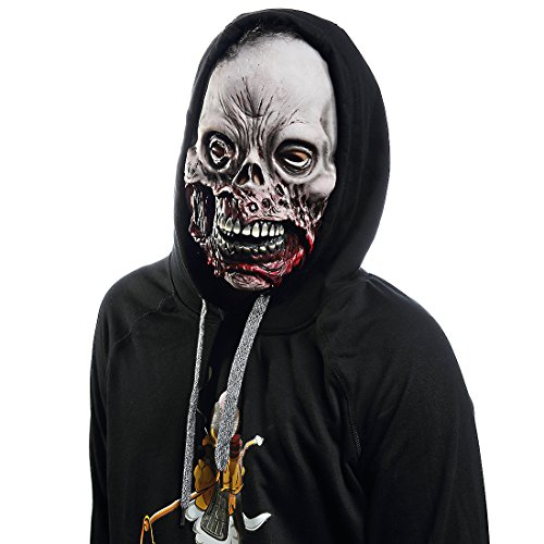 Mo Fang Gong She Halloween Death Zombie Scary Skeleton Cosplay Horror Rotten Corpses Latex -