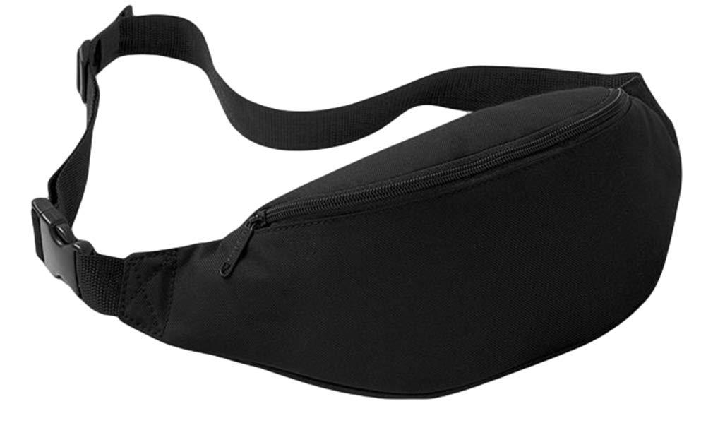 Jixin4you Fanny Pack Sport Waist Bag Adjustable Belt Travel Pocket