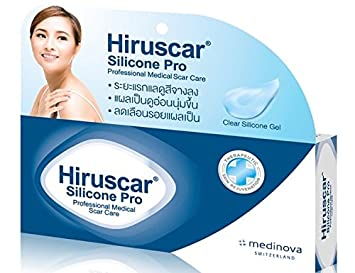 Hiruscar Silicone Pro 10g with MPS, Vitamin C & E for old and new scars