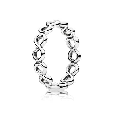 anillo mujer pandora infinito