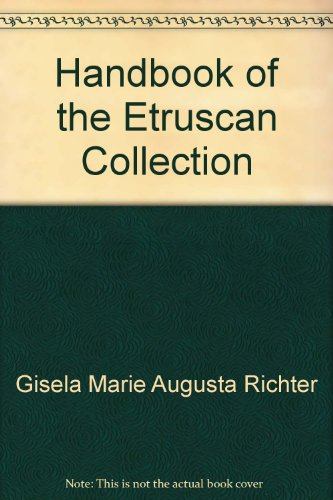 Handbook of the Etruscan Collection
