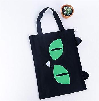 Useful 2PCS Carton Expression A4 Zip Bag Bolsa Carteras de Documentos (Blanco) Ari_Mao (Color : Green): Amazon.es: Electrónica