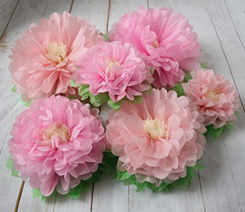 Mybbshower pinks tissue paper flowers wedding backdrop flower wall description mightylinksfo