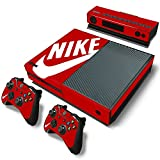XBOX ONE Skin Sticker NIKE Logo Red Shoe Box Cover Decal Wrap Protector for XBOX ONE 1 Console Kinect and 2 controller skins