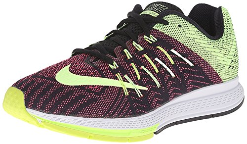 Nike Womens Air Zoom Elite 8 Running Shoe, Black/Ghost Green/Volt/Pnk Pow, 37.5 B(M) EU/4 B(M) UK