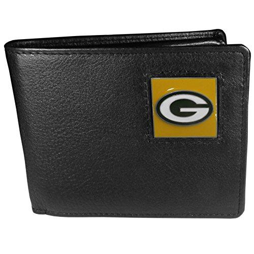 NFL Green Bay Packers Leather Bi-fold Wallet