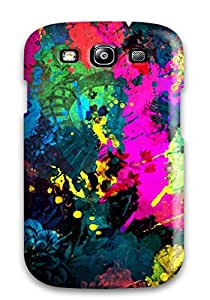 For KBBSufH834IsUFc Bright Acrylic Paint Protective Case Cover Skin/galaxy S3 Case Cover