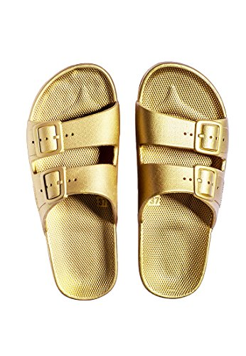 Moses Slider Sandals Goldie Rln2r4