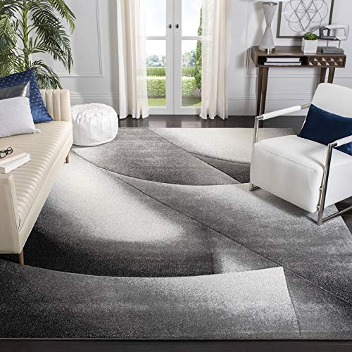 Safavieh Hollywood Collection HLW716G Mid-Century Modern Non-Shedding Stain Resistant Living Room Bedroom Area Rug, 8′ x…
