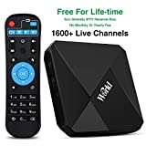 Brazilian IPTV Box International Receiver with Bluetooth 4.0 Android OS Lifetime Subscription for 1600 Global Live Channels Covers USA Europe Asian Brazil Arabix Sports Movie News 4K HD
