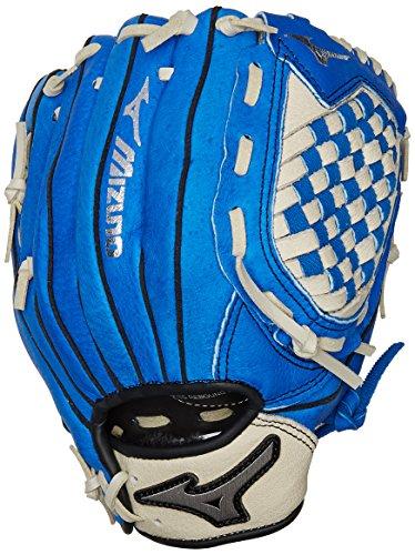 Mizuno Prospect Baseball Glove, Royal/Cream, Youth/Kids, 10.75