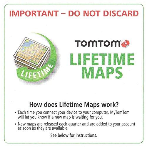 TomTom USA Canada Mexico Lifetime MAP Update Card Code VIA PRO GO