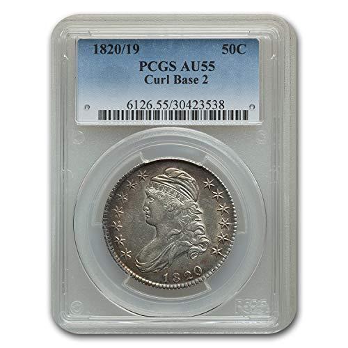 1820 Capped Bust Half Dollar AU-55 PCGS Half Dollar AU-55 PCGS