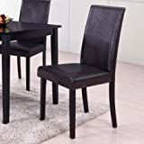 Best Master Furniture's Melisa Dining Chair, Set of 2