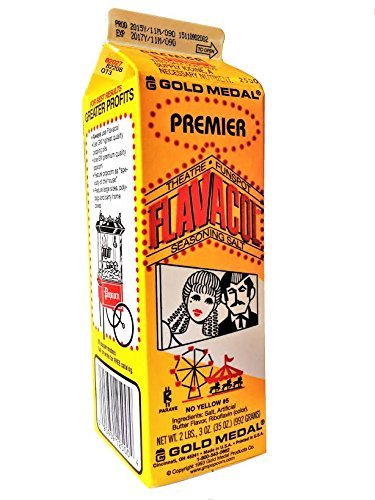 Las cajas de cartón individual Premier Flavacol palomitas sal del condimento: Amazon.es: Alimentación y bebidas