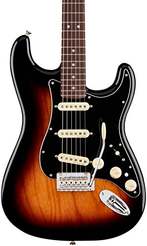 Fender Deluxe Stratocaster Electric Guitar - Pau Ferro Fingerboard two Color Sunburst