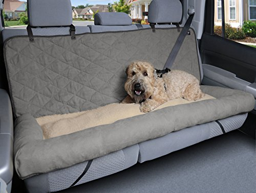 PetSafe Solvit 62455 Car Cuddler, Large, Grey