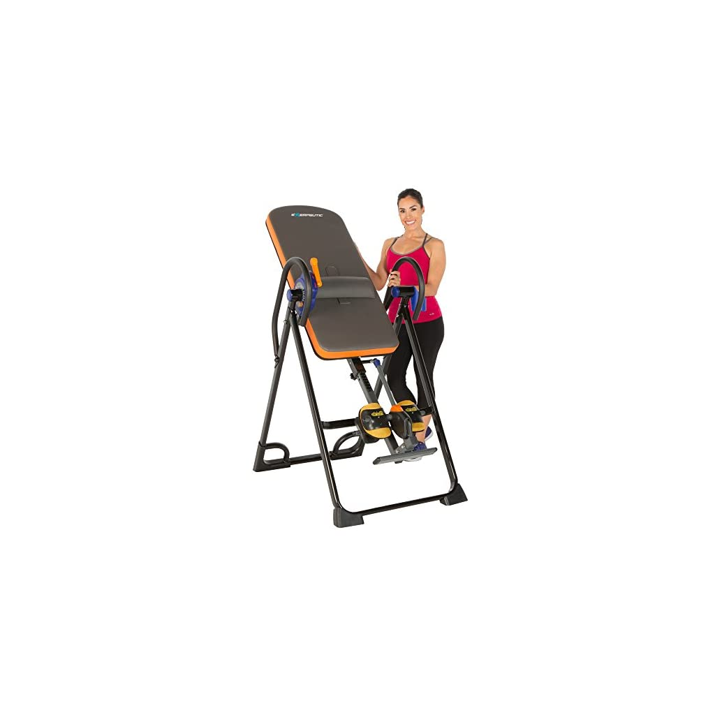 "Exerpeutic 975SL Inversion Table - 350 lbs, 4'9"" - 6'6"""
