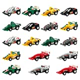 jerryvon Cars Party Favors Pull Back Mini Model Car Toy Sets Car Party Supplies Cake Topper Decorations for Boys Girls Kids 3 4 Years Old (18PCS)