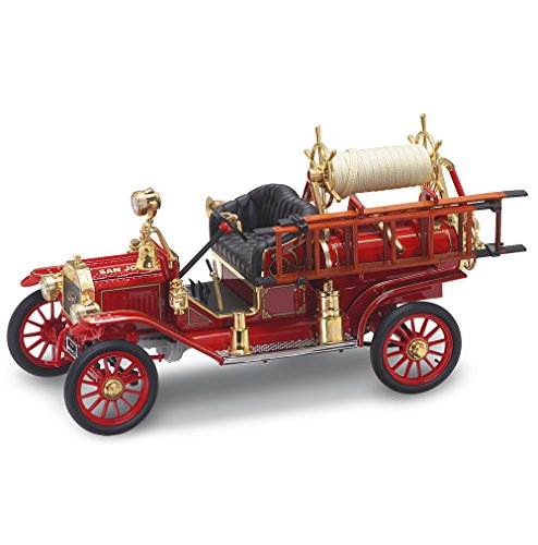 Lucky Die Cast 20038 1:18 1914 Ford Model T Fire Engine, Red