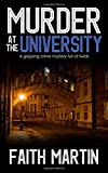 MURDER AT THE UNIVERSITY a gripping crime mystery full of twists