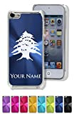 Case For Iphone 5C - Flag of Lebanon - Personalized Engraving Included