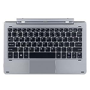 Original Chiwi Teclado para Chuwi Hi10 Pro/hibook/hibook Pro Tablet Teclado Separable diseño Multi Modo de Acoplamiento magnético Rotary Shaft (versión en ...