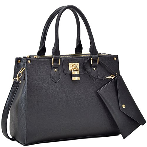 Black Designer Handbags - 8