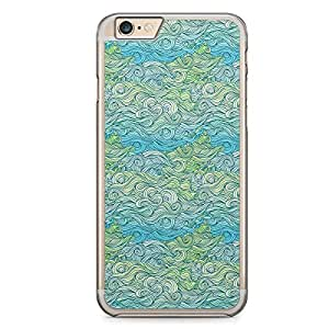 Waves iPhone 6 Plus Transparent Edge Case - Design 6
