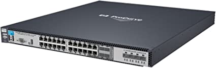 HP Switch HP 6600-24G-4XG - Switch de red (1000 Mb Latency: Amazon ...