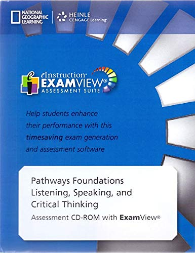 Pathways Listening & Speaking Foundations Assessment CD-ROM with Examview
