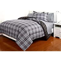 Dovedote 7 Piece Reversible Comforter and Matching Sheet...