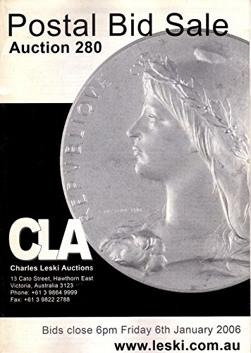 Download CHARLES LESKI AUCTION 280 Postal Bid Sale ebook