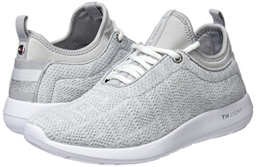 Tommy 100 White Light Hilfiger white Women''s Low Weight On Slip Sneaker top qB7Hq