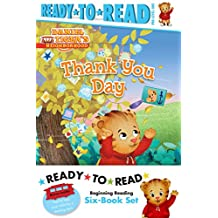 Daniel Tiger Ready-to-Read Value Pack: Thank You Day; Friends Help Each Other; Daniel Plays Ball; Daniel Goes Out for Dinner; Daniel Feels Left Out; Daniel Visits the Library