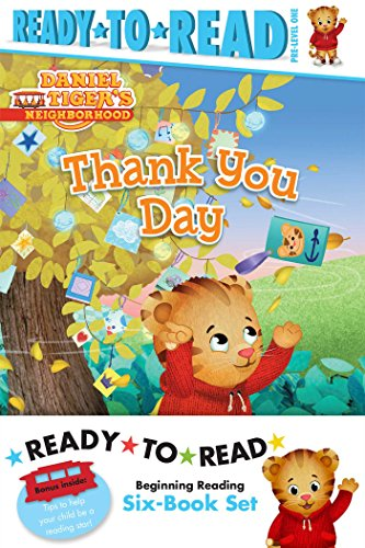 (Daniel Tiger Ready-to-Read Value Pack: Thank You Day; Friends Help Each Other; Daniel Plays Ball; Daniel Goes Out for Dinner; Daniel Feels Left Out; ... the Library (Daniel Tiger's Neighborhood))