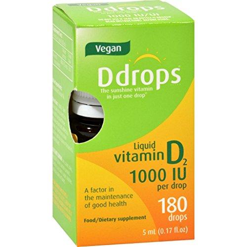 D Drops Vitamin D Drops 1000 IU 180 Drops .17 - Nud United