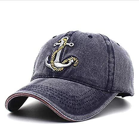 WDBUN Gorra de Beisbol Marca Lavada Suave Sombrero de Gorra de ...