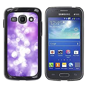 Paccase / SLIM PC / Aliminium Casa Carcasa Funda Case Cover para - White Lilac Purple Reflection Bright Focus - Samsung Galaxy Ace 3 GT-S7270 GT-S7275 GT-S7272