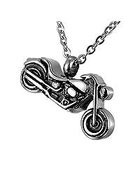 Cremation Urn Jewelry Necklace & Pendant Open & Waterproof Keepsake Memorial Urn Necklace